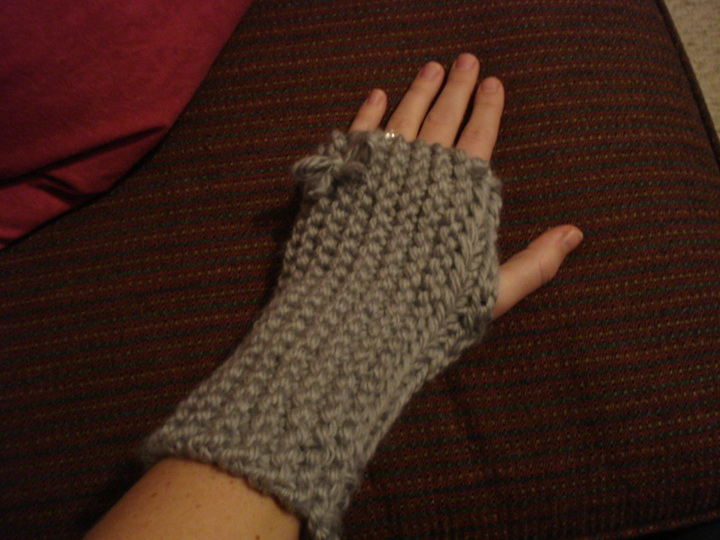 Knitted Hand Warmers Free Patterns : Chunky Knit Neck & Hand Warmers - Lovera Loft
